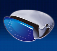 Cup face designed with uneven maraging thickness (sample image) Fairway Woods (#5, #7, #9) & Utilities